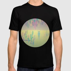 one more world Mens Fitted Tee Black SMALL