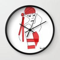 Elektra-assassin Wall Clock