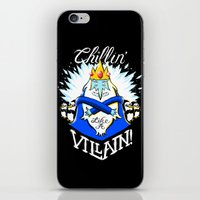 Chillin' Like A Villain iPhone & iPod Skin