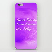 Live Today iPhone & iPod Skin