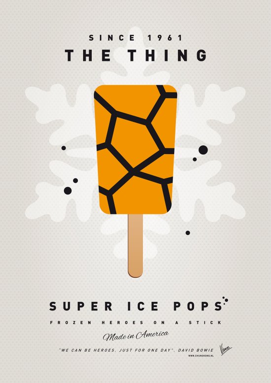 My SUPER ICE POP- No15 Canvas Print