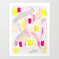 Abstract 001 Art Print