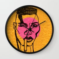 grace jones. Wall Clock