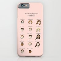 iPhone & iPod Case featuring Cutie Pies of SNL by Tyler Feder