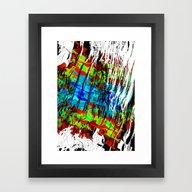 Schemata Sea II Framed Art Print