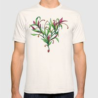 Growth Mens Fitted Tee Natural SMALL