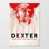 DEXTER Canvas Print