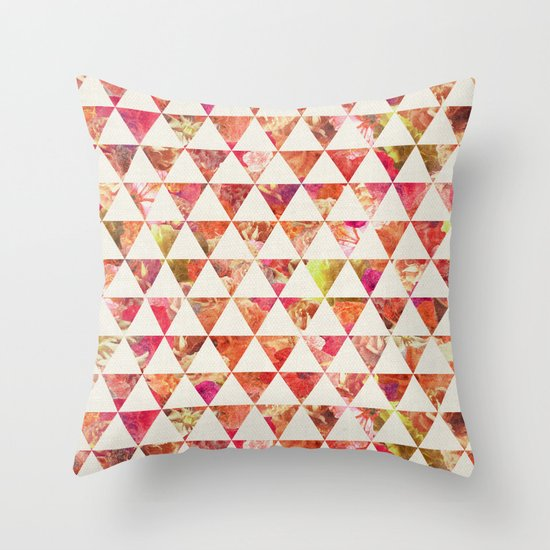 FLORAL FLOWWW Throw Pillow