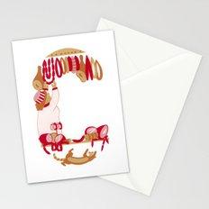 C as Charcutière (Pork butcher) Stationery Cards