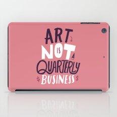 Art is Not... iPad Case
