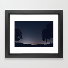 Early Hours Framed Art Print