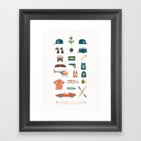 The Thomas Sullivan Kit Framed Art Print