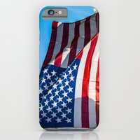 iPhone & iPod Case featuring American Flag by Brian Walsh