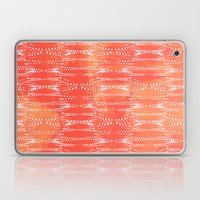 Dot Print - Orange Sherbet Laptop & iPad Skin