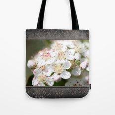 Aronia Blossoms Tote Bag