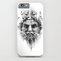 iPhone Cases featuring King Of Diamonds by Alexis Marcou