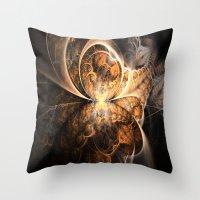 Fractal Design Spectrum Throw Pillow