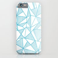 Abstraction Lines Watercolour iPhone 6 Slim Case