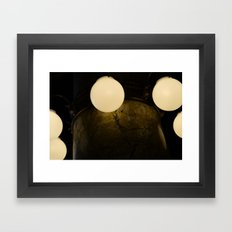 Light Marbles  Framed Art Print