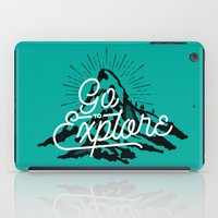 Go To Explore iPad Case