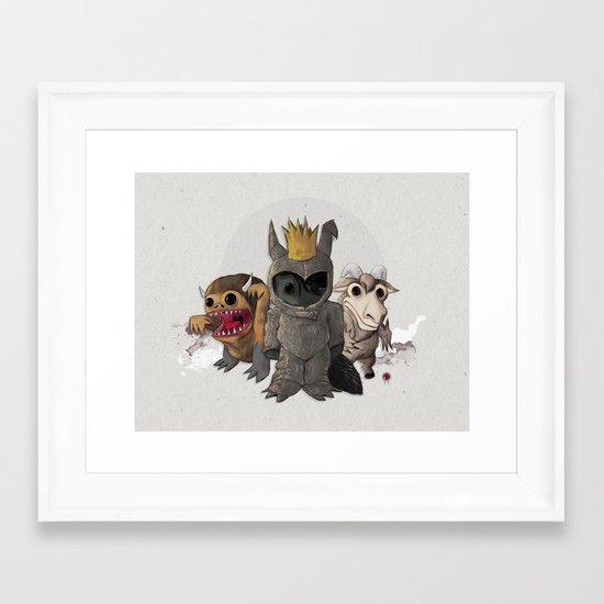 Wild Ones Framed Art Print