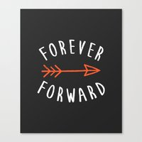 Forever Forward Canvas Print
