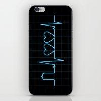 Two Heartbeats iPhone & iPod Skin