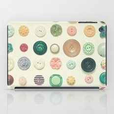 The Button Collection iPad Case