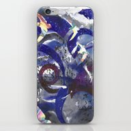 Swirling Swift Sky iPhone & iPod Skin