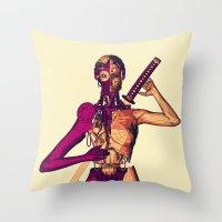 R.E.V.O.L.U.T.I.O.N Throw Pillow