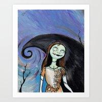 Sally Art Print