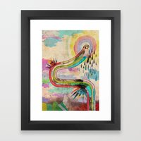 Tears Of Icarus Framed Art Print