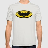 Gotham Gremlin Mens Fitted Tee Silver SMALL