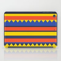 Triangles Jungle iPad Case