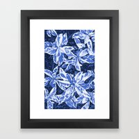 Aloha Blue Framed Art Print