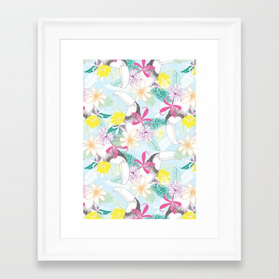 You Can Toucan Framed Art Print