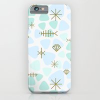 iPhone & iPod Case featuring Mod fish mobile by ravynka