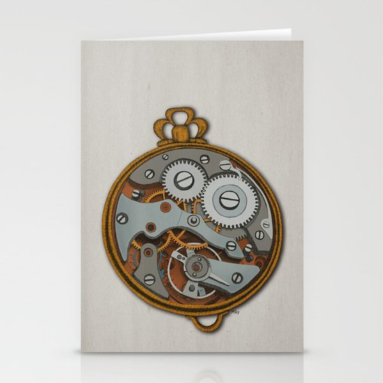 Pieces of Time Stationery Card