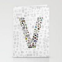 letter V - Nintendo Classics Stationery Cards