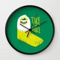 Advice Bigfoot Wall Clock