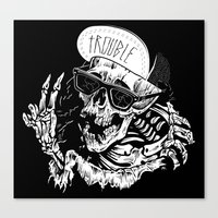 TROUBLE RIPPER / TROUBLE… Canvas Print