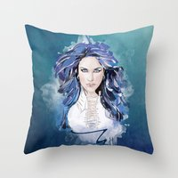 Alissa White Gluz  Throw Pillow