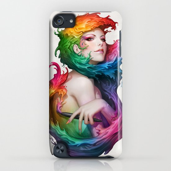 Angel of Colors iPhone & iPod Case