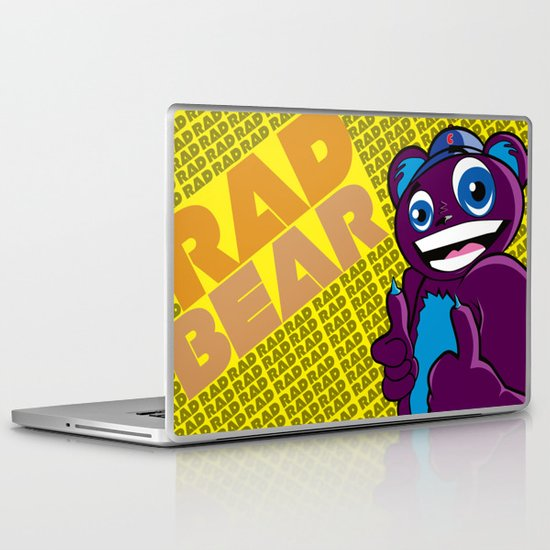 Thee Rad bear  Laptop & iPad Skin