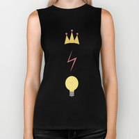 The Golden Trio Biker Tank
