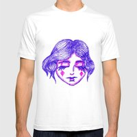 Fool Of Diamonds Mens Fitted Tee White SMALL
