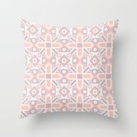 Ethnic Moroccan Motifs Seamless Pattern 8 Throw Pillow