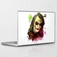 joker Laptop & iPad Skins featuring Joker by Sirenphotos