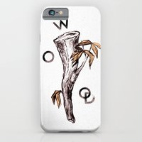 iPhone & iPod Case featuring Wood by Shelley Barnes
