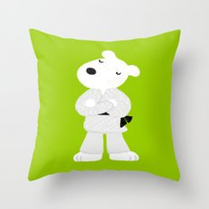 Now I have  a black belt! Throw Pillow
